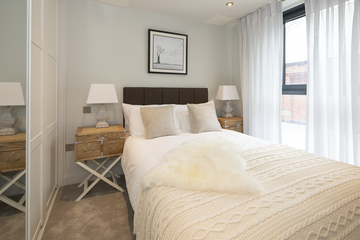 Bakers Quay Provender Mill Warehouse Mews Apartment Badroom