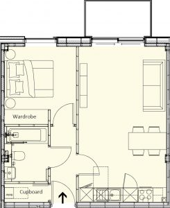 Bakers Quay Provender Warehouse Apartment Plan