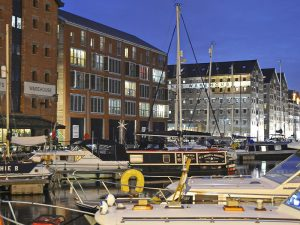 Gloucester Dock at Twilight