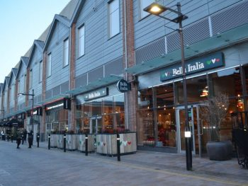 Gloucester Quays Bella Italia Pizza Restaurant