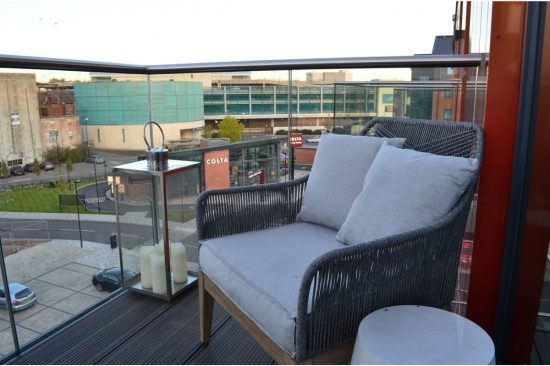 Bakers Quay Warehouse Luxury Apartments Merchant Square Balcony